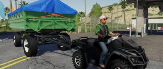 Скачать мод на квадроцикл CAN-AM 1100XT для Farming Simulator 2019