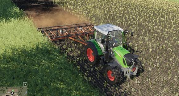 Скачать мод на культиватор КПМ-6 для Farming Simulator 2019
