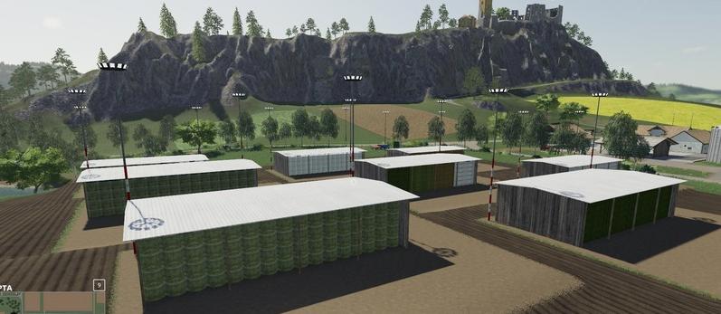 Скачать мод на хранилище для тюков для Farming Simulator 2019