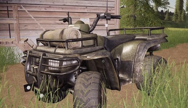 Квадроцикл Lizard Quad Bike для Farming Simulator 2019