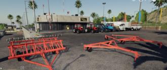 Мод на сцепки СП и культиватор КПС-4 для Farming Simulator 2019