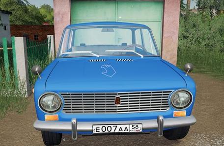 Мод на автомобиль ВАЗ 2101 для Farming Simulator 2019