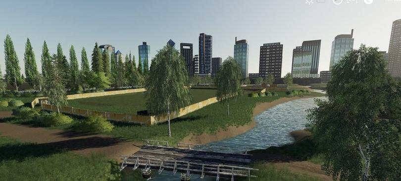 Мод на карту «Полевое» v1.0 для Farming Simulator 2019