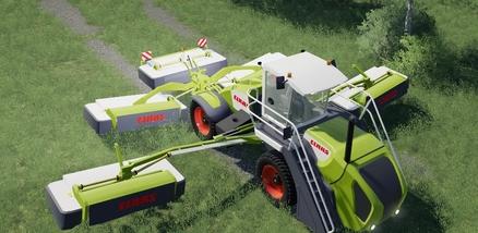 Скачать мод на косилку Claas Cougar 1400 для Farming Simulator 2019