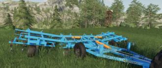 Скачать мод на культиватор КБМ 8ПС для Farming Simulator 2019