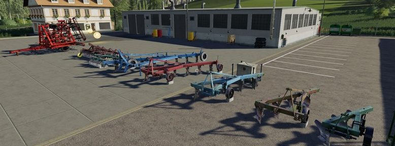 Мод пак отечественного с/х инвентаря для Farming Simulator 19