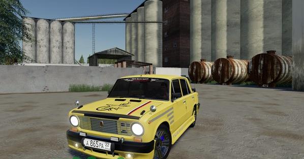 Мод тюнингованный ВАЗ-2101(Копейка) для Farming Simulator 2019