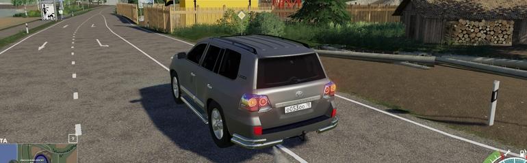 Мод на автомобиль Toyota Land Cruiser 200 для FS 2019