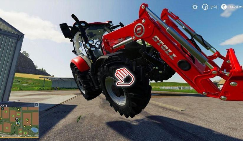 Мод для поднятия тяжелых предметов в Farming Simulator 2019