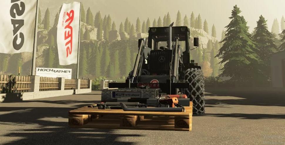 Мод Forst Palette v1.0.0.0 для Farming Simulator 2019