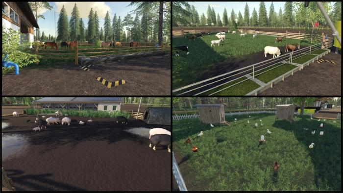 Мод на карту West End 64X by Levis для Farming Simulator 2019