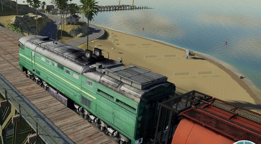 Мод на тепловоз «Diesel Locomotive» для Farming Simulator 2019
