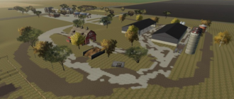 Мод на карту Cornbelt 16x beta v8.85 для Farming Simulator 2019