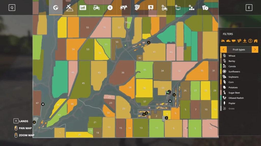 Карта Николаевщина v1.0 для Farming Simulator 2019