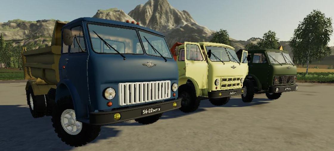 Мод на грузовик Маз 5549 v.1.0 для Farming Simulator 2019
