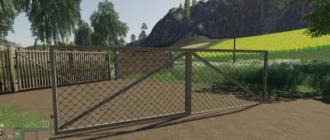 Мод на ворота Gate Pack для Farming Simulator 2019