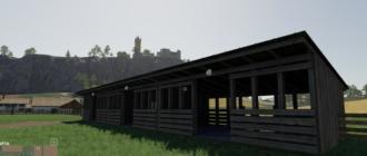 Мод на конюшню Horse Stud для Farming Simulator 2019