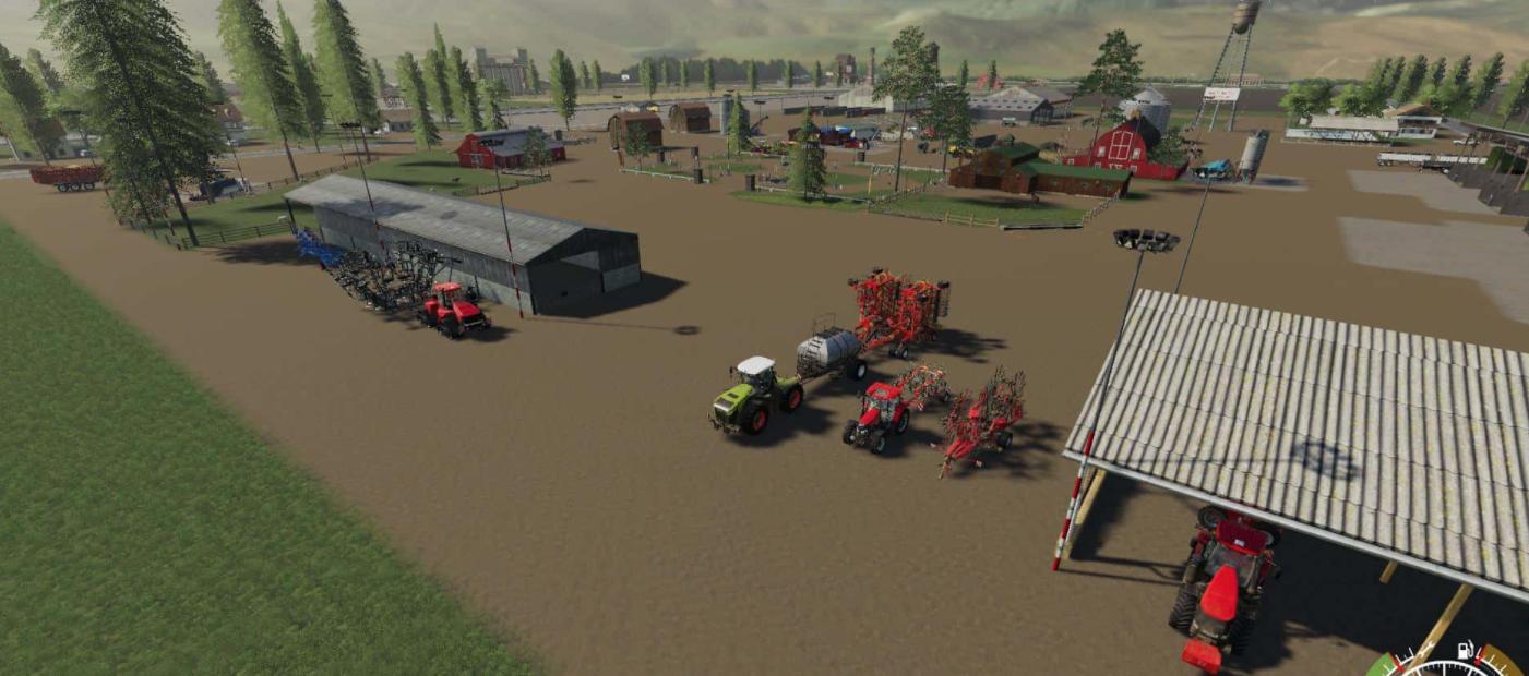 Канадская карта Canadian farm map - seasons ready v6.0 для FS 2019