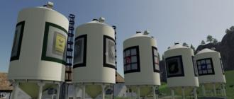 Мод на «Силосные Станции» для Farming Simulator 2019