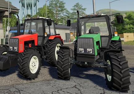 Мод на трактор Беларус МТЗ-1221 для Farming Simulator 2019
