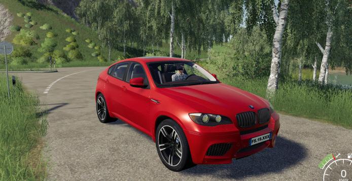 Скачать мод на BMW X6M для Farming Simulator 2019