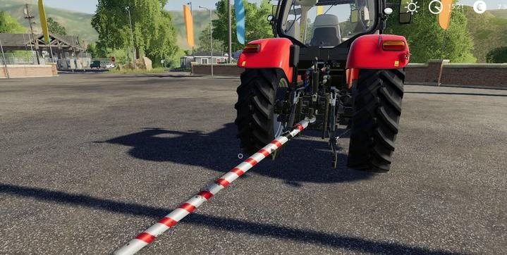 Мод на жесткую сцепку Tow Bar для Farming Simulator 2019