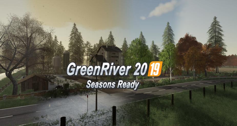 Мод на карту Greenriver 2019 v2.0.2 для Farming Simulator 2019