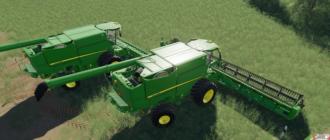 Комбайн John Deere S700 Series USA для Farming Simulator 2019