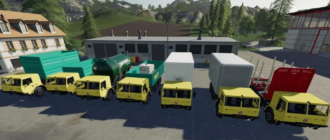 Мод на Tatra 815-7 HoT system v1.0 для Farming Simulator 2019
