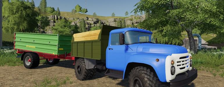 Модификация на грузовик ЗИЛ-4502 для Farming Simulator 2019