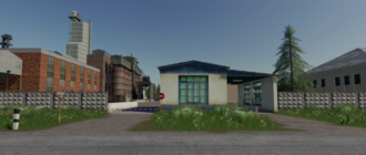 Мод на карту село Ягодное v3.0.3 для Farming Simulator