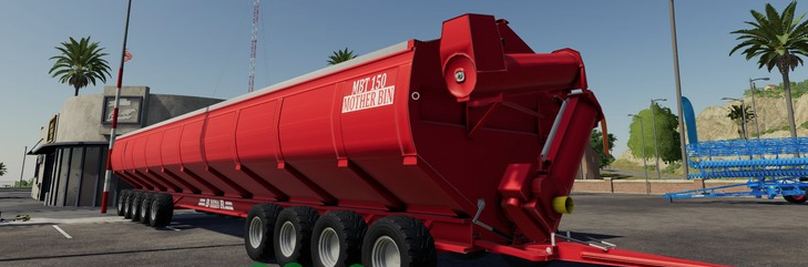 Мод на прицеп (бункер) «Bromar Motherbin» для Farming Simulator 2019