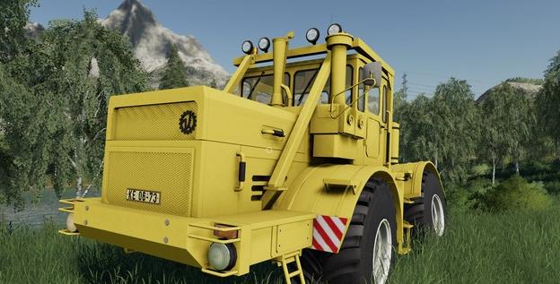 Мод на трактор Кировец 701 для Farming Simulator 19