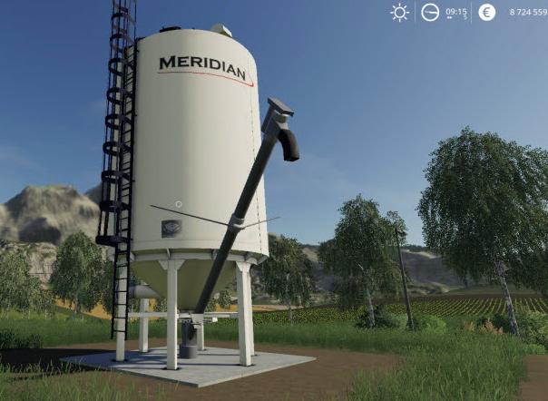 Мод на станцию для производства извести в Farming Simulator 19
