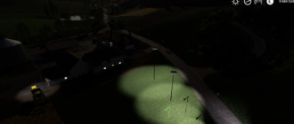 Пак фонарей «Placeable Light Pack» для Farming Simulator 2019