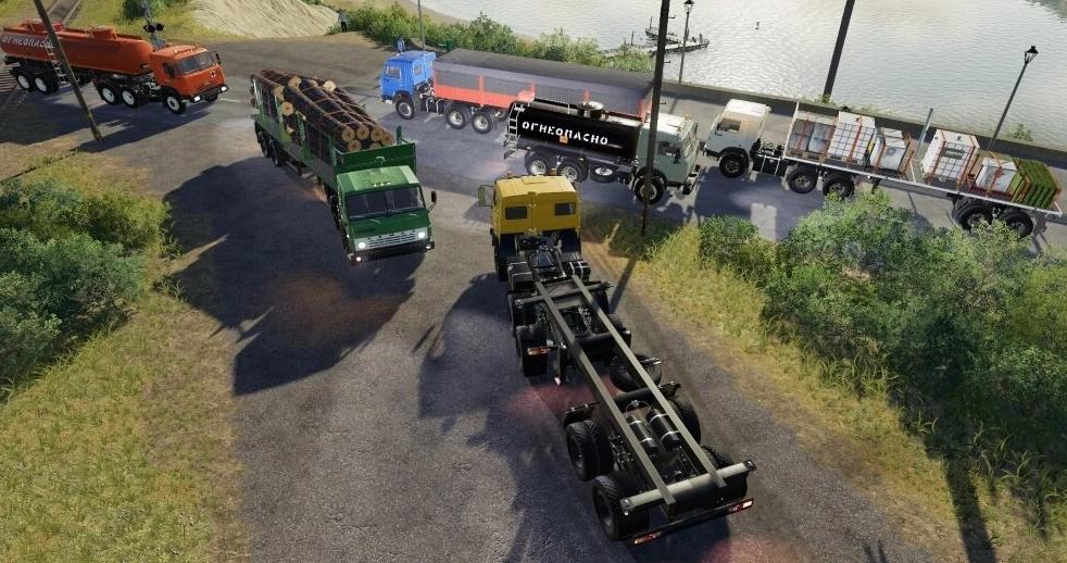 Moд пак на KАМАЗы v1.0.0.0 для Farming Simulator 2019