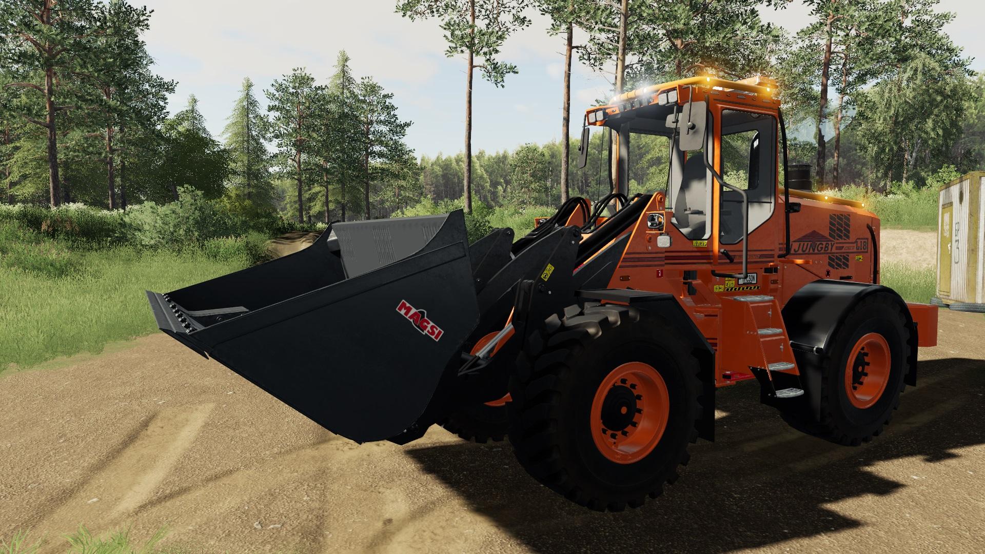 Мод на трактор Ljungby v1.0 для Farming Simulator 2019