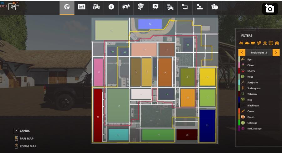 Мод на карту Canadian producyion v6.0 для Farming Simulator 2019