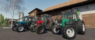 Мод на трактора MTЗ 1025 FOREST V1.0 для Farming Simulator 2019
