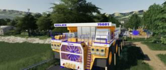 Мод наBelaz 75601 Mining Truck для Farming Simulator 2019