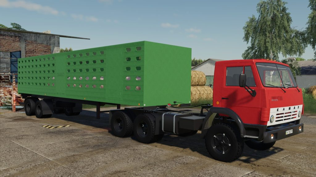 Прицеп ОДАЗ-9976 V1.0.0.1 для Farming Simulator 2019