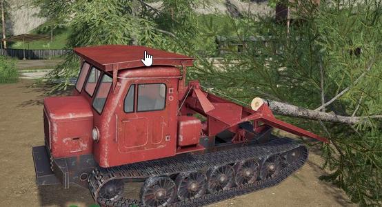 Мод на гусеничный трактор TT4 для Farming Simulator 2019