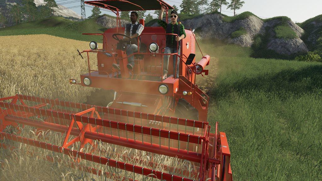 Универсальный пассажир v1.1 для Farming Simulator 2019