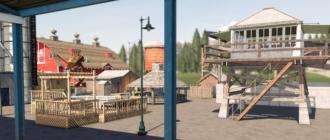 Мод на Goldcrest Decoration Pack v1.0 для Farming Simulator 2019