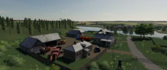 Мод на карту «Село Бурлаки» v2.0 для Farming Simulator 2019