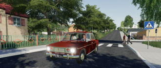 Мод на автомобиль ВАЗ-2103 для Farming Simulator 2019