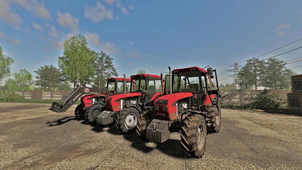 Мод на трактор МТЗ 1025.3 для Farming Simulator 2019
