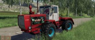 Мод на трактор XT3 T150K для Farming Simulator 2019