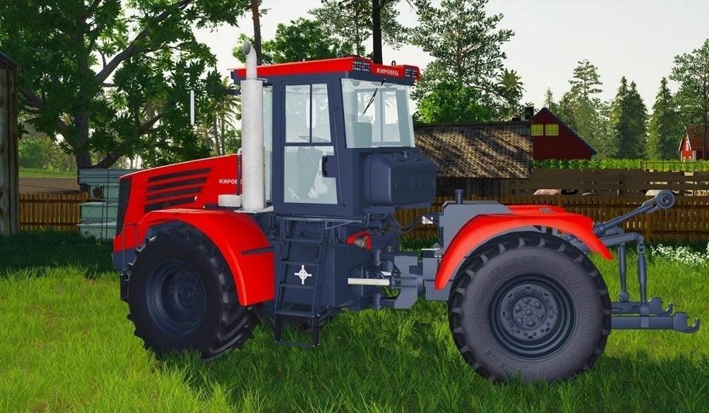 Мод на трактор Кировец К744 К4 для Farming Simulator 2019