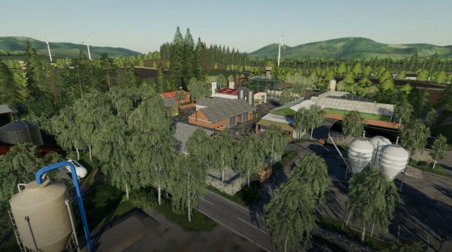 Мод на биогазовые установки для Farming Simulator 2019
